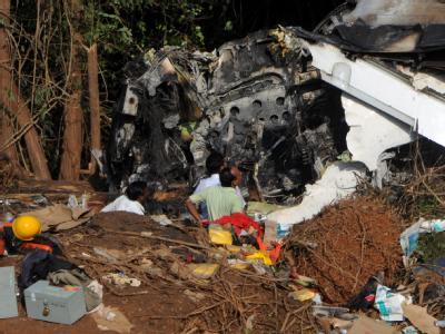 Flugzeugabsturz in Indien