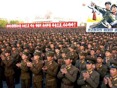 Nordkoreanische Soldaten