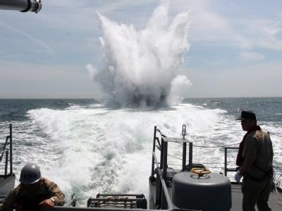 Seemanöver der südkoreanischen Marine: Die Lage zwischen Süd- und Nordkorea ist angespannt.