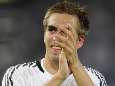 Philipp Lahm ist Deutschlands Kapitän in Südafrika. (Archivbild)