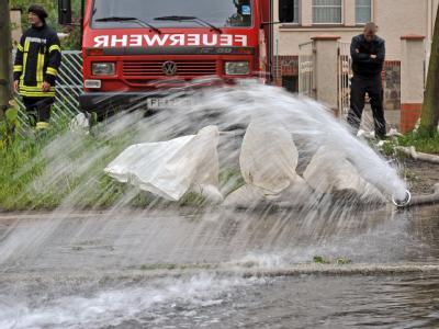 Hochwasser in Frankfurt (Oder)