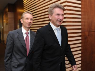 Gerhard Papke und Andreas Pinkwart