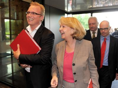 Die Landesvorsitzende der SPD, Hannelore Kraft.