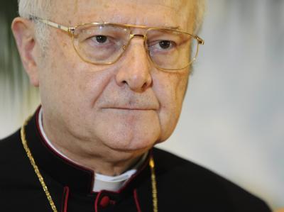 Der Vorsitzende der Deutschen Bischofskonferenz, Erzbischof Robert Zollitsch.