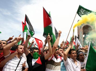 Proteste gegen Israel in der Türkei: UN-Generalsekretär Ban Ki Moon forderte Israel in aller Deutlichkeit auf, die Gaza-Blockade mit sofortiger Wirkung aufzuheben.