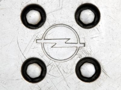 Zerkratzte Opel-Radkappe