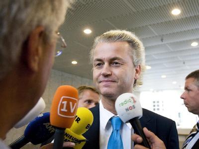 Geert Wilders erhebt Anspruch auf eine Regierungsbeteiligung.