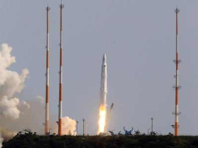 Rakete in Südkorea gestartet
