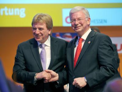 Volker Bouffier und Roland Koch