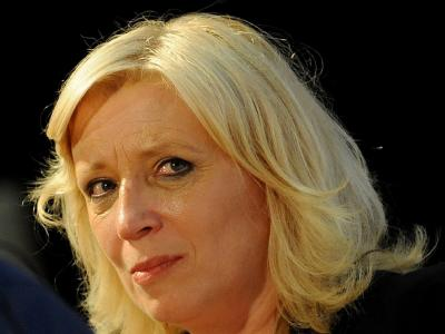 Die Spitzenkandidatin der christlich-liberalen SDKU, Iveta Radicova.