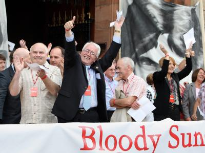 Freude über «Bloody Sunday»-Report