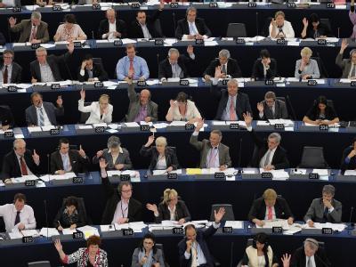 Die EU-Parlamentarier wehren sich die verordnete Anwesenheitspflicht zur Rede von EU-Kommissionspräsident José Manuel Barroso (Archivfoto).
