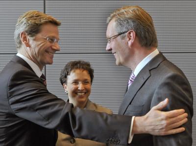 Guido Westerwelle und Christian Wulff