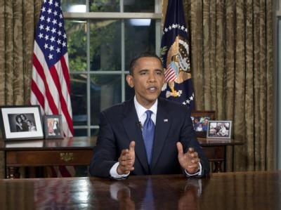 US-Präsident Obama macht den Kampf gegen die Ölpest zum Kampf gegen das Öl: Die USA müssten ihre Energiepolitik radikal ändern, um solche Katastrophen künftig zu vermeiden.