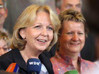 Hannelore Kraft und Sylvia L�hrmann