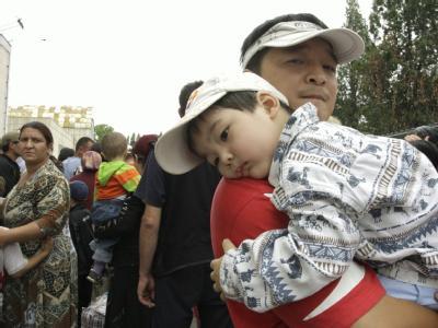 Viele Menschen in der Stadt Osch benötigen humanitäre Hilfe.