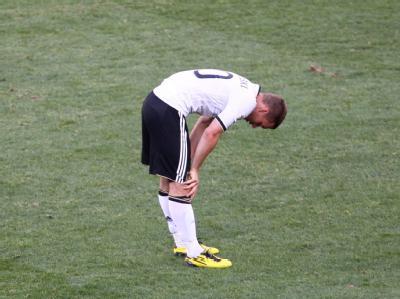 Lukas Podolski weiß, was schiefgelaufen ist.