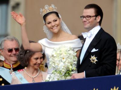 «Ich danke dem schwedischen Volk» - Kronprinzessin Victoria und Prinz Daniel strahlen.