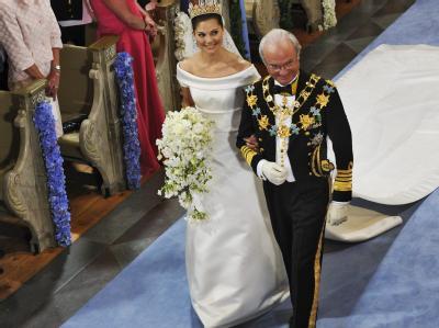 Victoria und Carl XVI. Gustaf