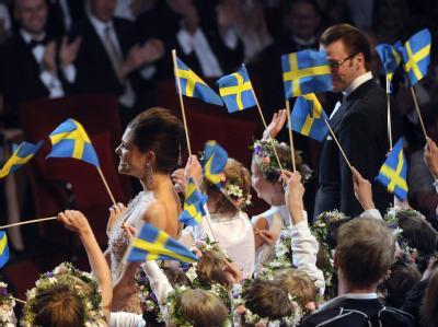 Schweden feiern Kronprinzessin