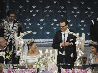 Hochzeitsessen in Stockholm