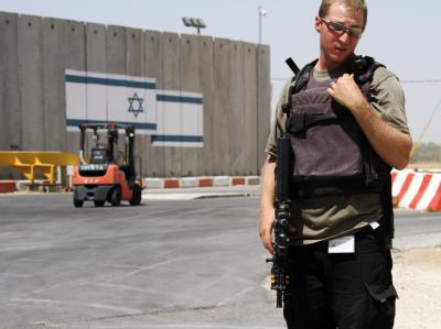 Abriegelung gelockert: Binnen zwei Wochen sollen nun täglich 400 Lastwagen die Grenze zum Gazastreifen passieren.