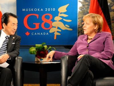 Merkel und Kan