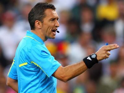 Weder Schiedsrichter Jorge Larrionda noch sein Linienrichter sahen das klare Tor von Frank Lampard.