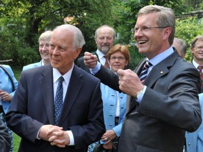 Christian Wulff und Ernst Albrecht