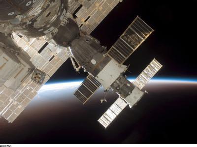 Unbemannter Raumfrachter verfehlt ISS