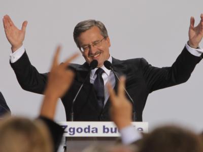Der liberal-konservative Parlamentschef Bronislaw Komorowski ist der nächste Präsident Polens.