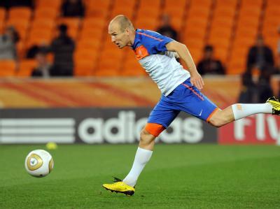 Arjen Robben ist entschlossen, in Johannesburg Geschichte zu schreiben und den ersten WM-Titel für die Niederlande zu erobern.