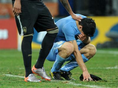 WM 2010 - Uruguay - Deutschland 2:3