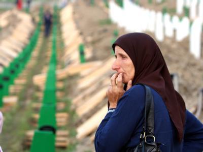 Gedenken an Völkermord von Srebrenica vor 15 Jahren
