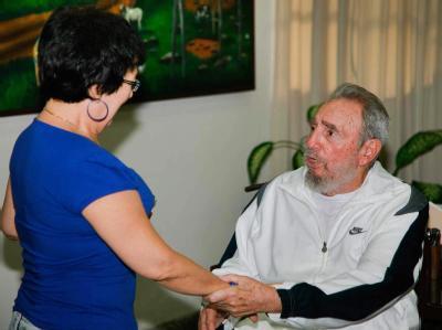 Fidel Castro erstmals wieder in der Öffentlichkeit