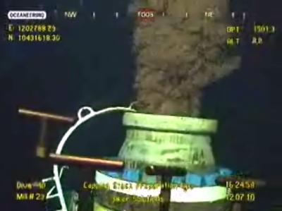 Rohöl strömt ungebremst in den Golf von Mexiko.