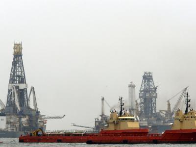 Arbeiten im Golf von Mexiko