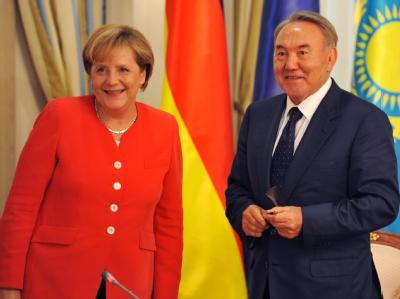 Merkel in Kasachstan