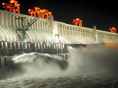 Drei-Schluchten-Damm in China vor größtem Test