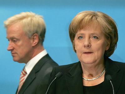 Beust und Merkel