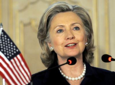 US-Außenministerin Clinton will Südkorea den Rücken stärken.