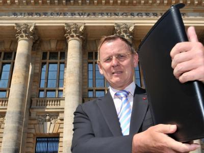 Die Beobachtung des Linken-Spitzenpolitikers Bodo Ramelow durch den Verfassungsschutz ist nach Ansicht des Bundesverwaltungsgerichts rechtens.