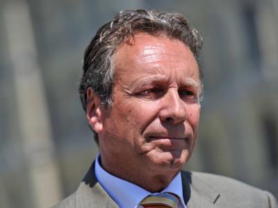 Der Vorsitzende der Linkspartei, Klaus Ernst.