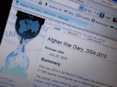 Die Enthüllungsplattform Wikileaks hatte unlängst zahlreiche US-Diplomatendepeschen veröffentlicht.