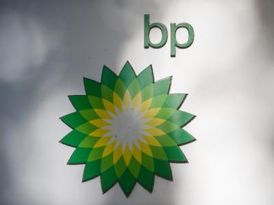 Das Logo der Firma BP. Die Firma musste wegen der Ölpest schon viele Milliarden Dollar ausgeben.