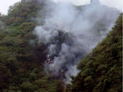 In Pakistan ist ein Passagierflugzeug abgestürzt.