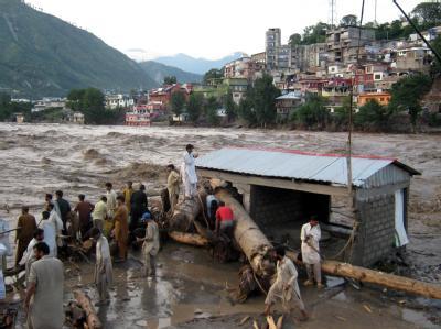 Hochwasser in Pakistan