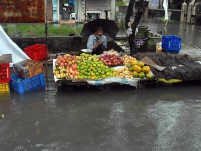 Monsun-Hochwasser in Indien
