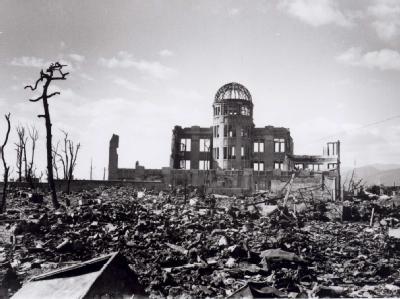 Gedenken an Atombombenabwurf
