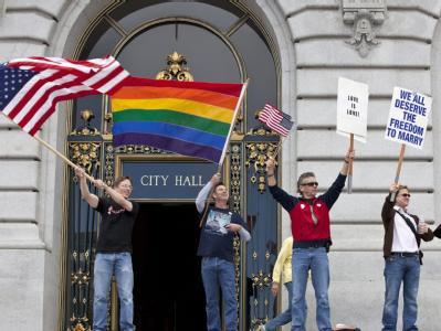 Homo-Ehe in Kalifornien